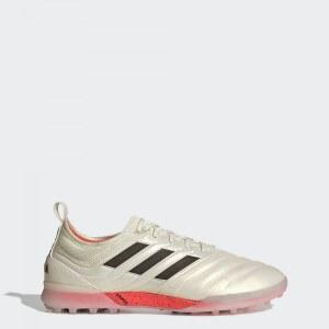 862cc892 Футбольные бутсы Copa 19.1 TF adidas Performance off white / core black /  solar red