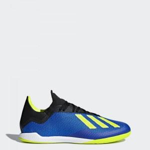 71f8e660 Футбольные бутсы (футзалки) X Tango 18.3 IN adidas Performance football blue  / solar yellow